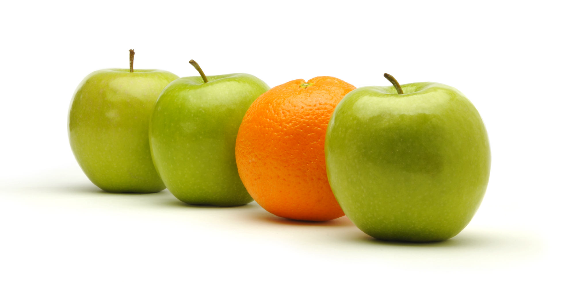 orange among apples   Rise and Shine